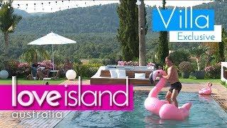 Jaxon shows off flamingo balancing skills | Love Island Australia 2018