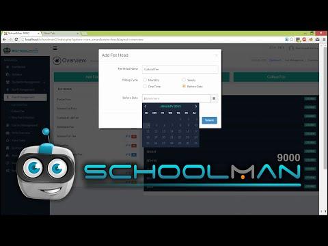 SchoolMan 9000 - School Management Software Sneak Peek