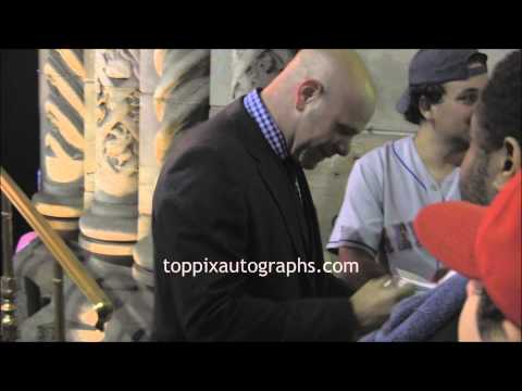 Domenick Lombardozzi - Signing Autographs at the