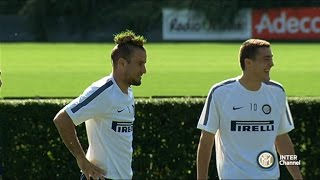 ALLENAMENTO INTER REAL AUDIO 12 09 2014