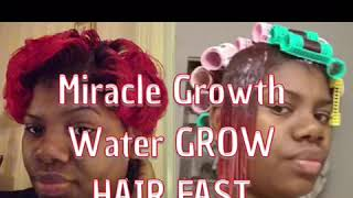 ORDER MIRACLE GROWTH WATER™️ Type In Link  www.miraclegrowthwater.com