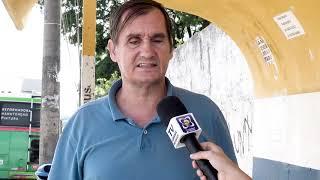 Carlos Trigo fiscaliza situação dos pontos de ônibus