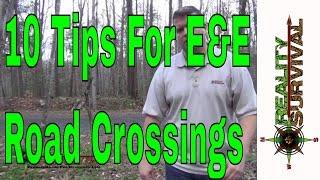 Ten Escape & Evasion Tips For Crossing Roads