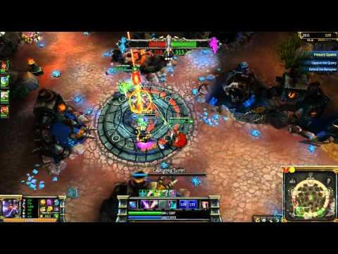 League of Legends ATF ARAB