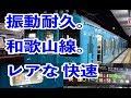 【振動耐久】和歌山線の快速に乗って和歌山から奈良まで乗ってきた【1日に一本だけ】