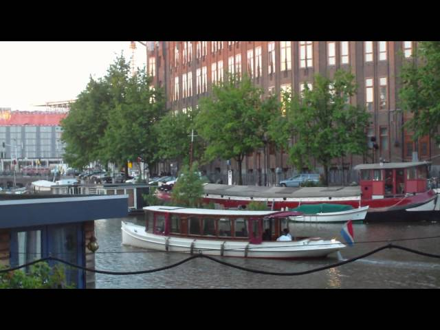Sightseeing Around Nieuwmarkt Amsterdam (6.16.10 Full HD)