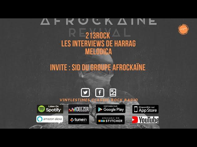 213Rock Harrag Melodica Interview With Sid AfrockaïNe
