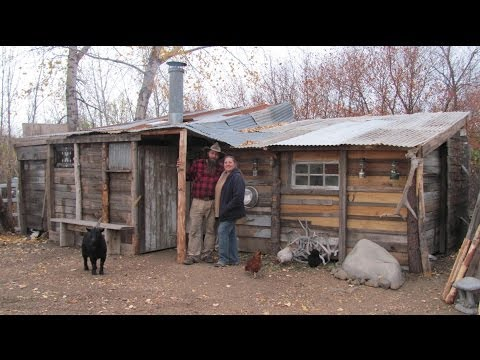 Idaho Hillbillies Homestead # 43 Building a 50 Dollar Cabin
