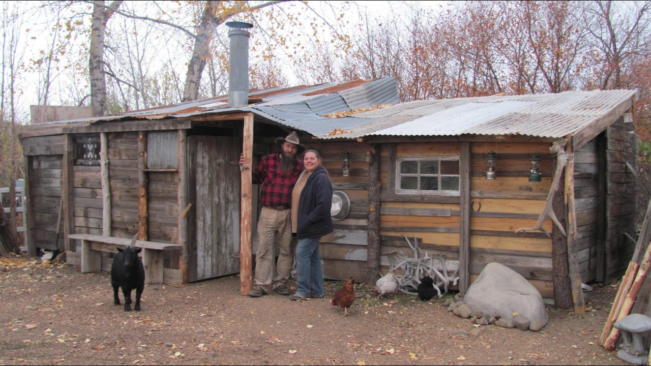 Superieur Idaho Hillbillies Homestead # 43 Building A 50 Dollar Cabin   YouTube