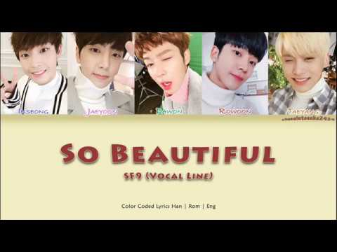 SF9 (에스에프나인) - So Beautiful (너와 함께라면) [color coded lyrics han | rom | eng]