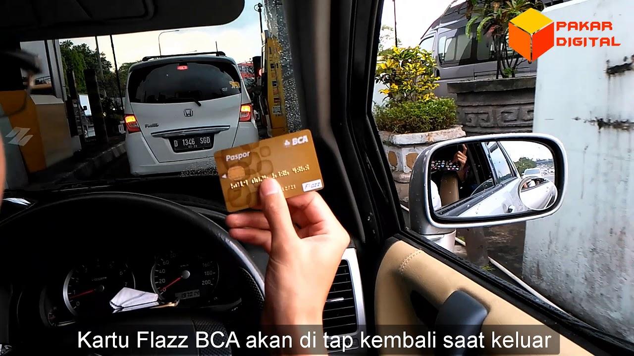 Menggunakan Paspor Bca Untuk Pembayaran Gerbang Tol Otomatis Gto Flazz Card 10 Kartu