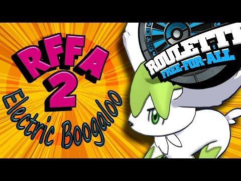 Roulette FFA 2: Electric Boogaloo (Pokémon RFFA)