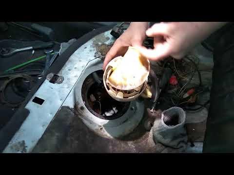 Проверка обратного клапана бензонасоса Audi A6 C5 (quattro)
