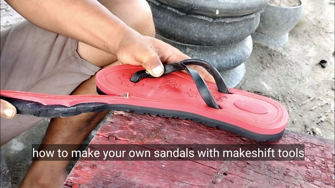 How to make your own sandals