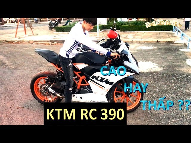 Review nhẹ KTM RC390 (phần 1) - Ep.0020 | Real Life for Ride |