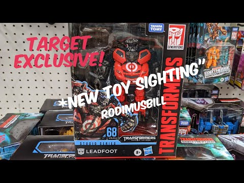 Studio Series LEADFOOT Target Exclusive New Toy Sighting