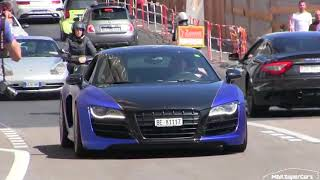 CRAZY SWISS PEOPLE TAKE OVER MONACO WITH THEIR SUPERCARS  TOP MARQUES 2017