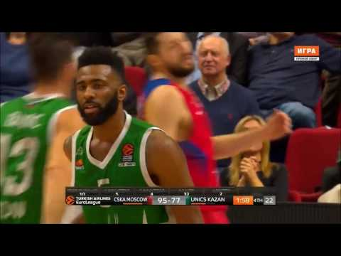 Keith Langford - Unreal performance against CSKA (36 pts)