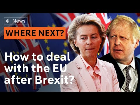 How will Britain and Europe build a new relationship after Brexit?