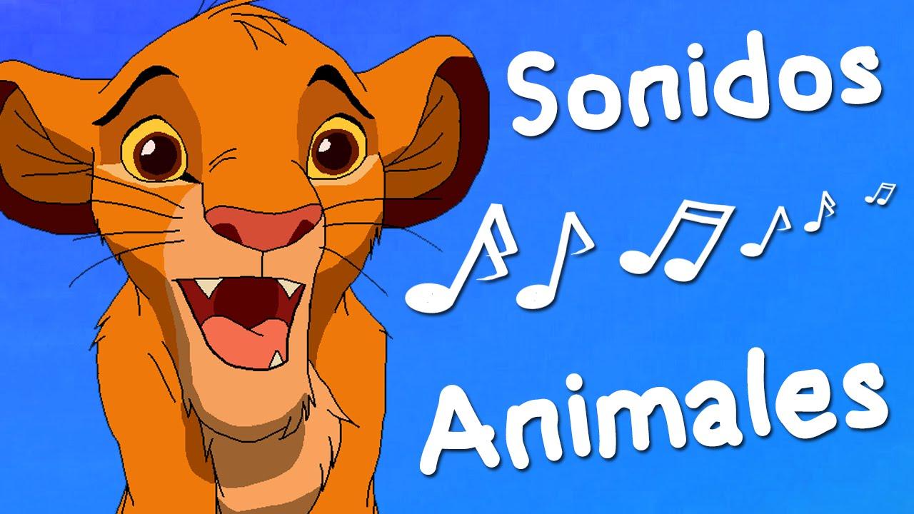 Sonidos De Animales Para Ninos Y Bebes Version Dibujos Youtube