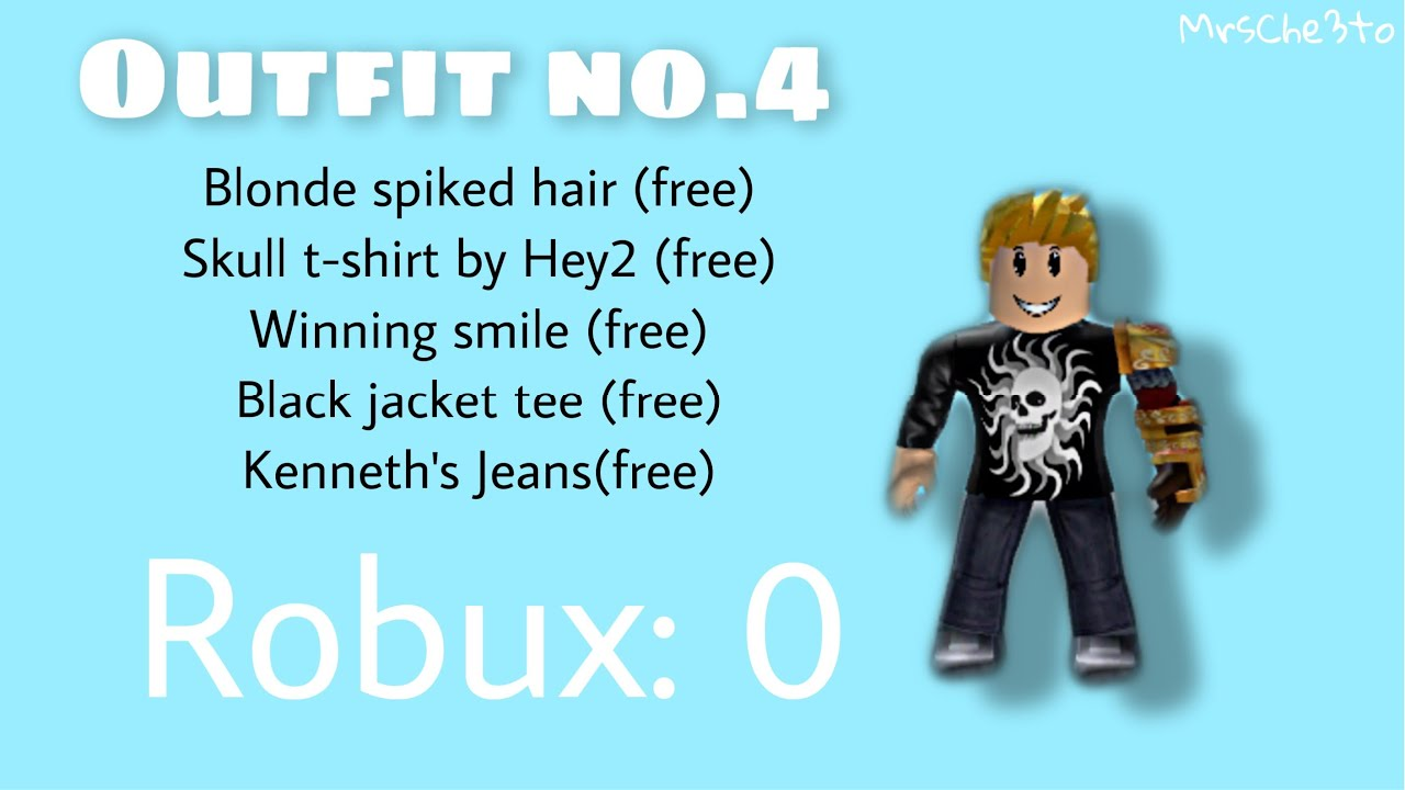 Winning Smile Roblox Toy 8 Roblox Free Outfit Ideas 0 Robux Outfits For Boys And Girls Youtube