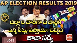 AP Elections 2019 Survey Results District Wise | YSRCP | TDP | Janasena | AP CM 2019 | YOYO TV NEWS