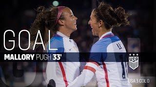 WNT vs. Colombia: Mallory Pugh Goal - April 6, 2016
