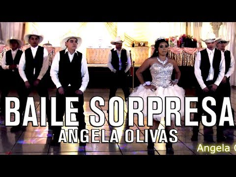 Angela Olivas Quinceanera Surprise Dance | Baile Sorpresa | Cumbia Nortena Mi Gente Footlose