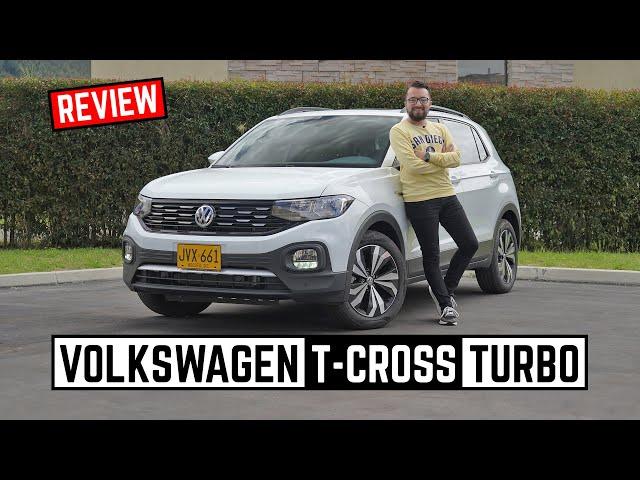 Volkswagen T Cross 🔥 Ahora con motor Turbo 200 TSI 🔥 Prueba - Reseña