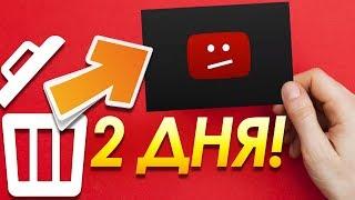 Как восстановить удаленное видео с YouTube? Что делать если Вы случайно удалили видео с ютуба?