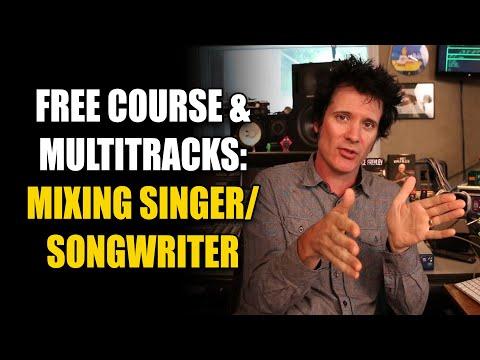 Mixing Singer/Songwriter - Hybrid MIXING with Warren Huart