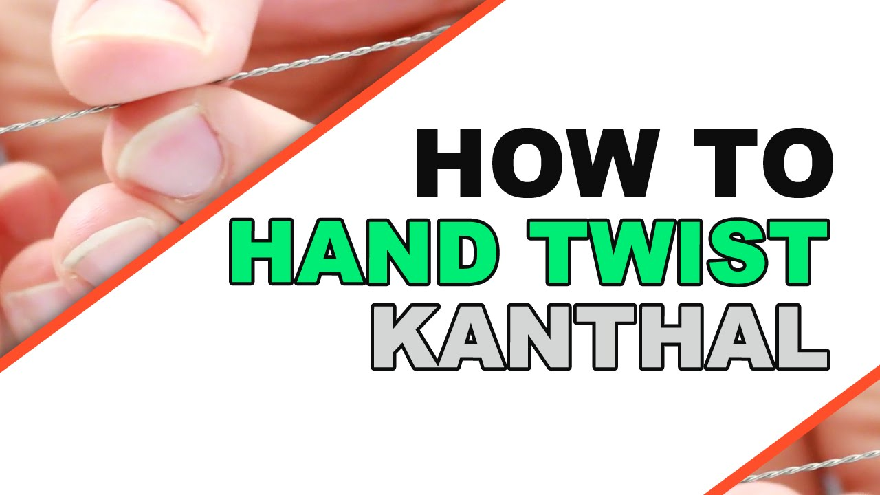 How To: Hand Twist Kanthal - YouTube