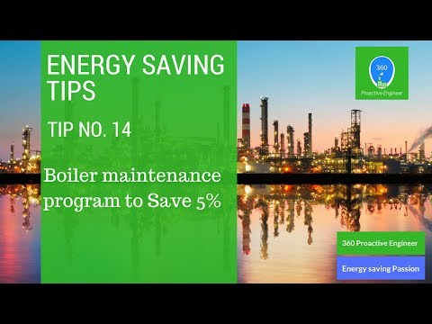 Boiler maintenance program to save Energy