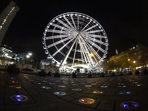 Wheel Of Manchester POV Time Lapse