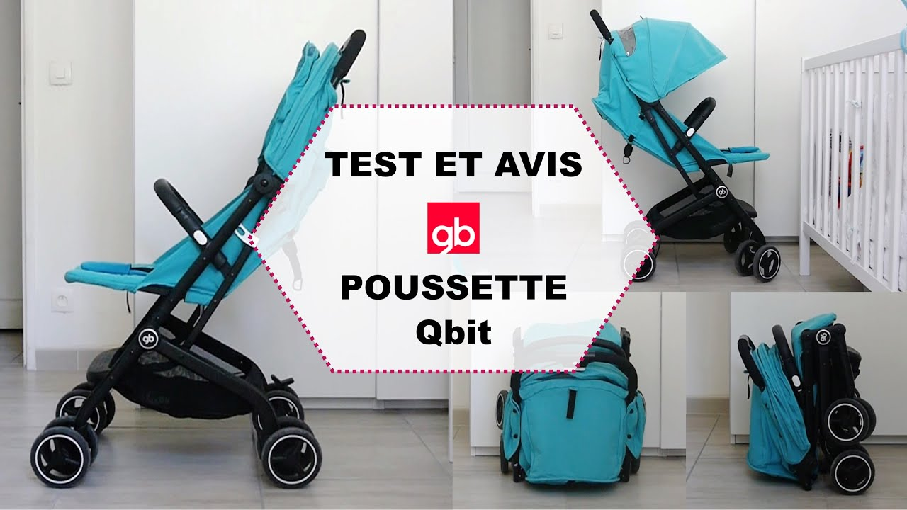 poussette yoyo vs qbit+