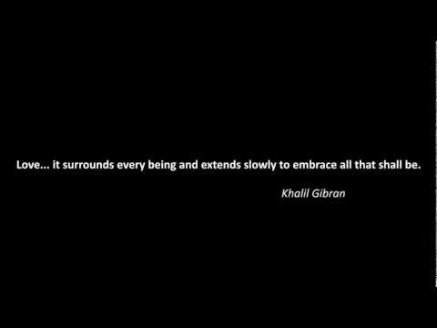 Quote About Love: Khalil Gibran