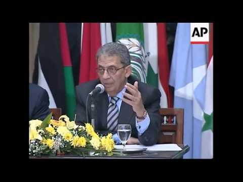 Arab League foreign  ministers discuss Lebanon political crisis