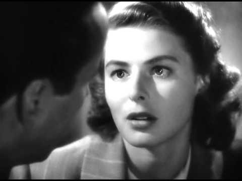 Casablanca 1942 love scene