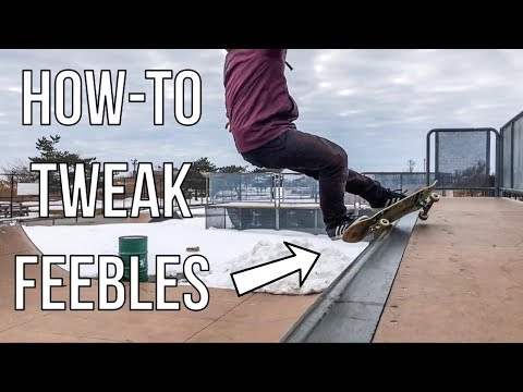 How To Frontside Feeble Grind On A Mini Ramp