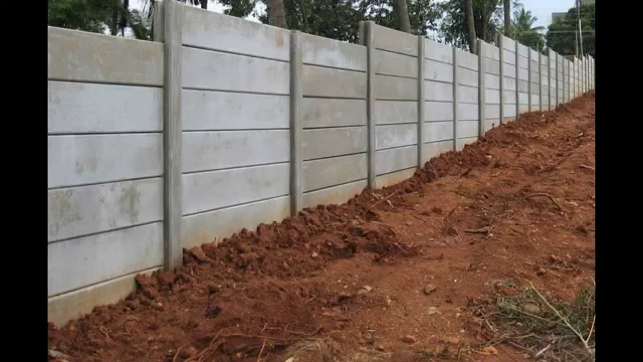 Precast Compound Wall : Precast readymade compound wall youtube