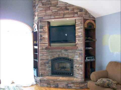 Cornercopia Wood Burning Fireplace Youtube