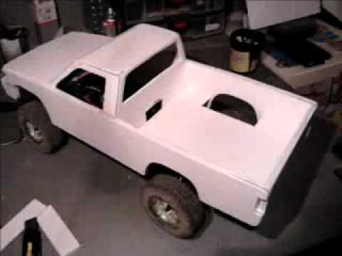 rc toyota 4runner 39 92 pick up part 1 hand made build up youtube. Black Bedroom Furniture Sets. Home Design Ideas