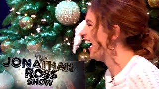 Lily James Gets Pie-Faced! - The Jonathan Ross Show