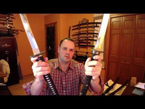 Rambling About Sword Dynamics: Customized Hanwei Bamboo Mat V.S. Factory Hanwei Bamboo Mat