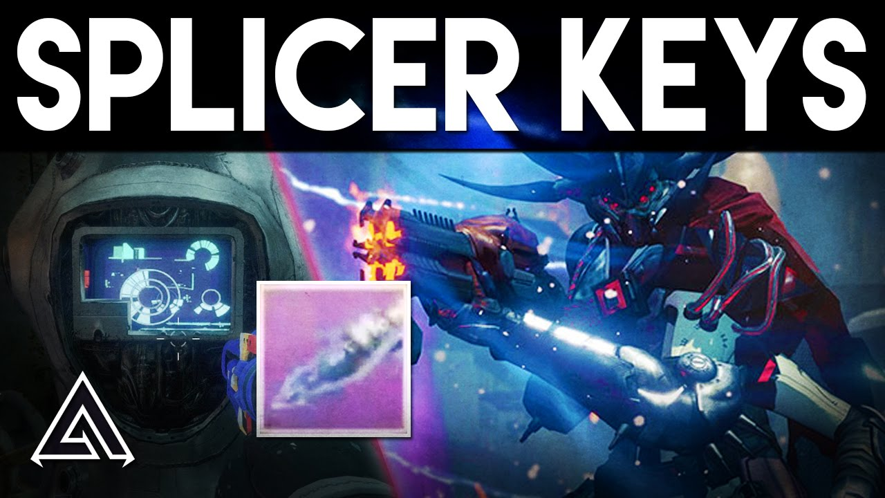 how to get splicer key