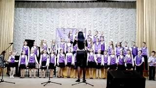 """""""Little pussy"""", """"Little bird"""".Муз. И. Францескевич. Исполняет хор ДМШ №3, г. Николаев"""