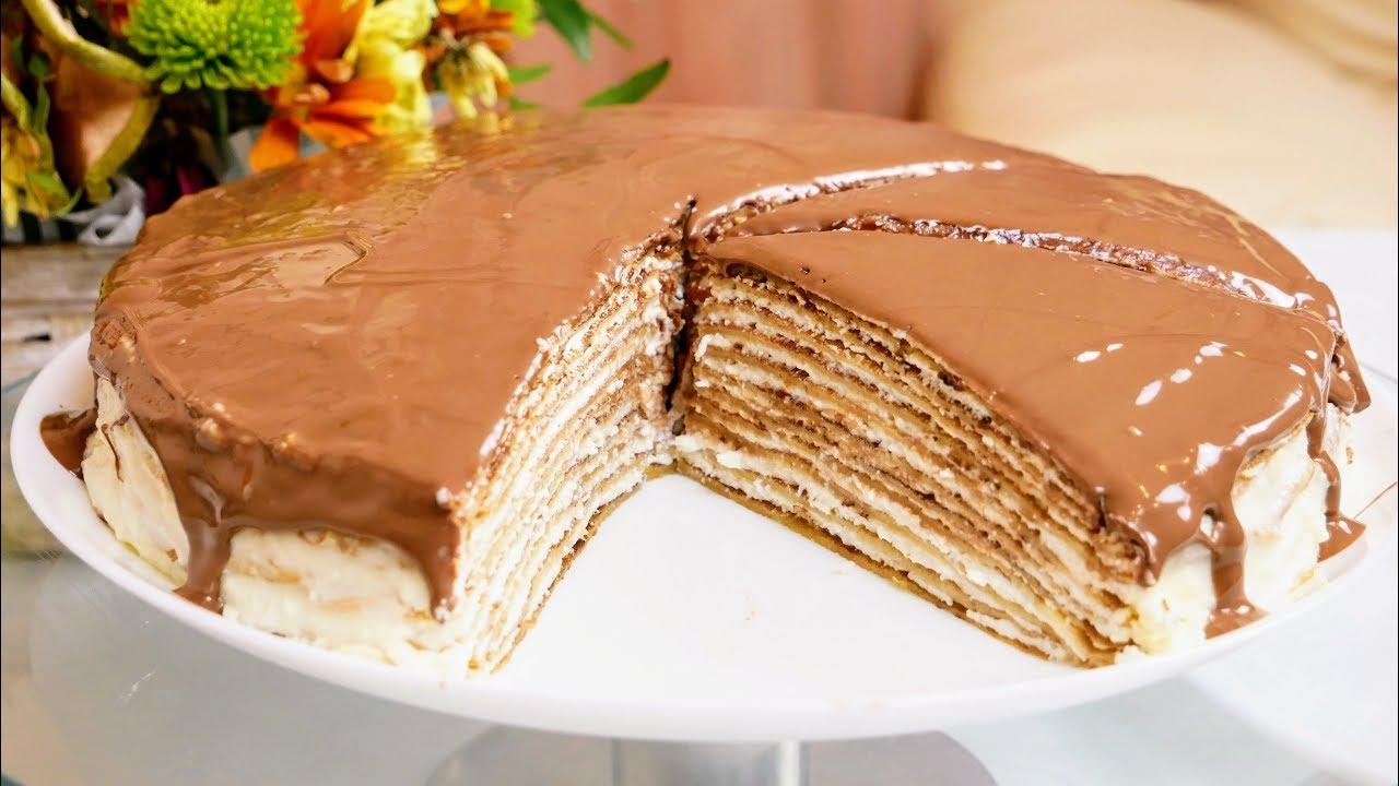 Блинный торт МАСЛЕНИЦА, цыганка готовит. Блины. Блинчики. Gipsy cuisine.