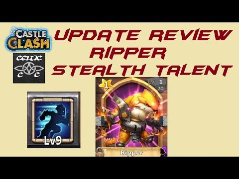 Update Review: Ripper, Stealth And More  Castle Clash