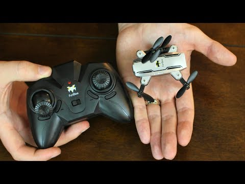 Simple & Great Micro Drone Foldable Mavic Style - Furibee H815 - TheRcSaylors