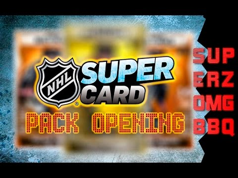 NHL SuperCard : Epic & Legendary Pack Opening!